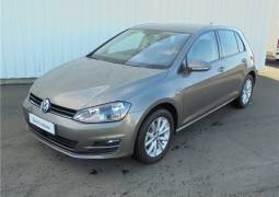 VOLKSWAGEN GOLF 1.6 TDI 105 BLUEMOTION TECHNOLOGY FAP LOUNGE - véhicule d'occasion - Lemauviel Automobiles