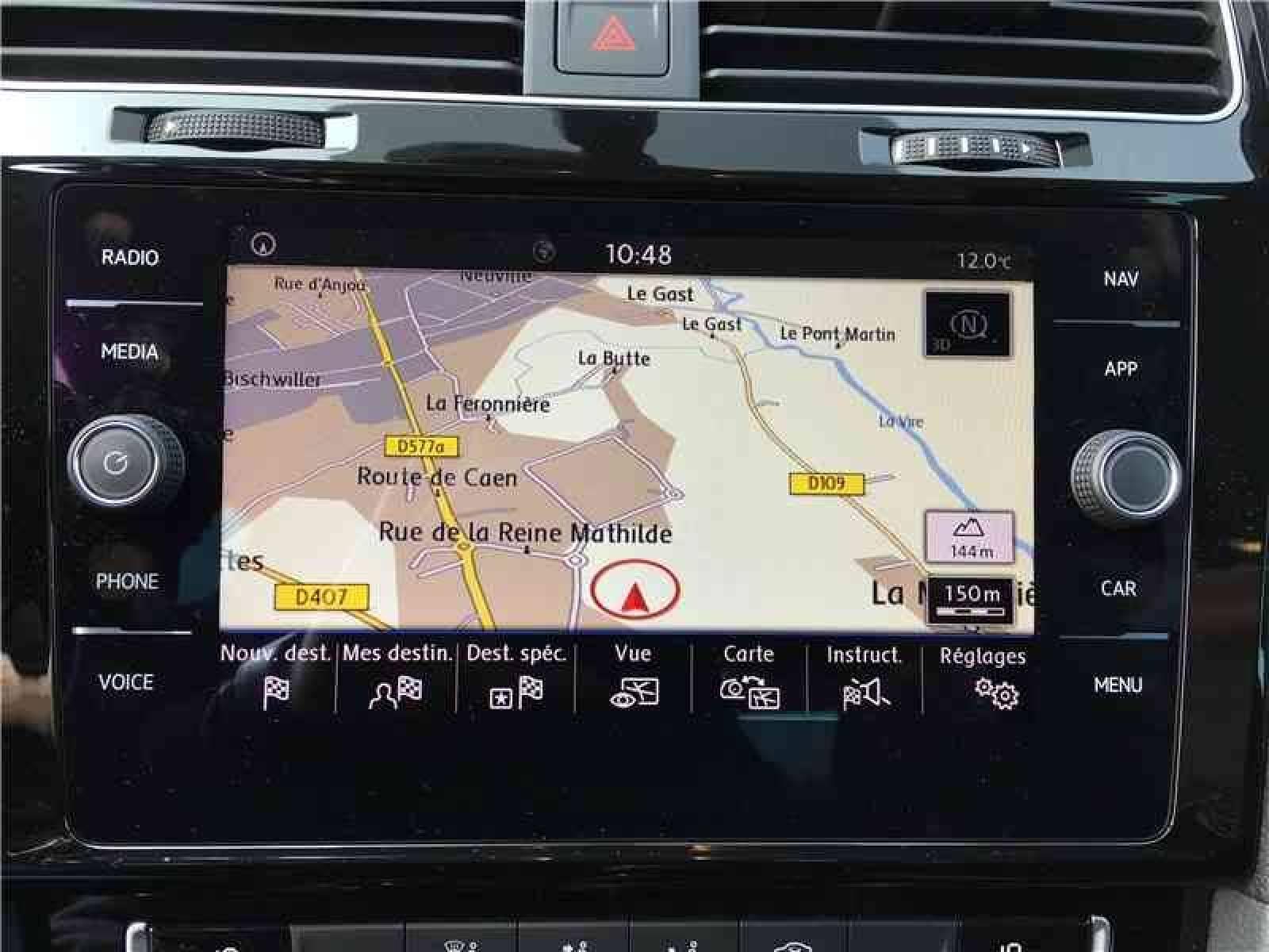 VOLKSWAGEN Golf 1.6 TDI 115 FAP BVM5 - véhicule d'occasion - LEMAUVIEL AUTOMOBILES - Présentation site web V2 - Lemauviel Automobiles - VIRE - 14500 - VIRE - 13