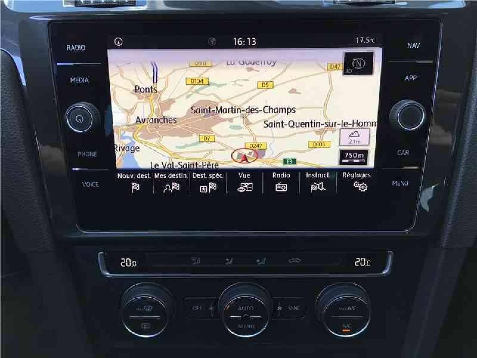 VOLKSWAGEN Golf 2.0 TDI 150 FAP BVM6 - véhicule d'occasion - LEMAUVIEL AUTOMOBILES - Présentation site web V2 - Lemauviel automobiles - AVRANCHES - 50300 - LE VAL-SAINT-PÈRE - 4
