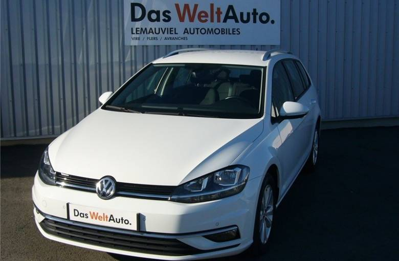 VOLKSWAGEN Golf SW 1.6 TDI 115 BlueMotion Technology  First Edition - véhicule d'occasion - LEMAUVIEL AUTOMOBILES - Présentation site web V2