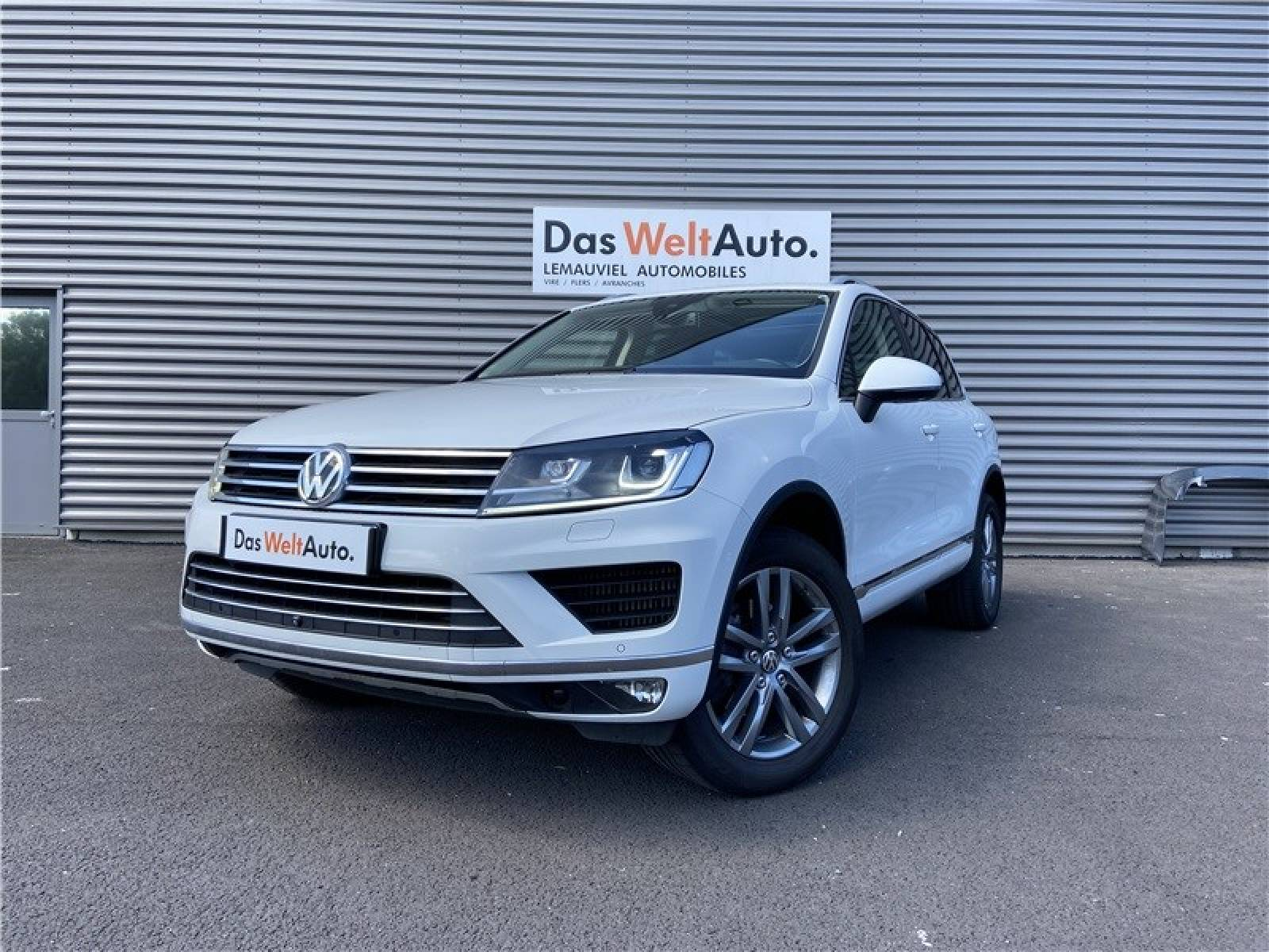 VOLKSWAGEN Touareg 3.0 V6 TDI 262 4Motion BlueMotion Technology - véhicule d'occasion - LEMAUVIEL AUTOMOBILES - Présentation site web V2 - Lemauviel Automobiles - VIRE - 14500 - VIRE - 1