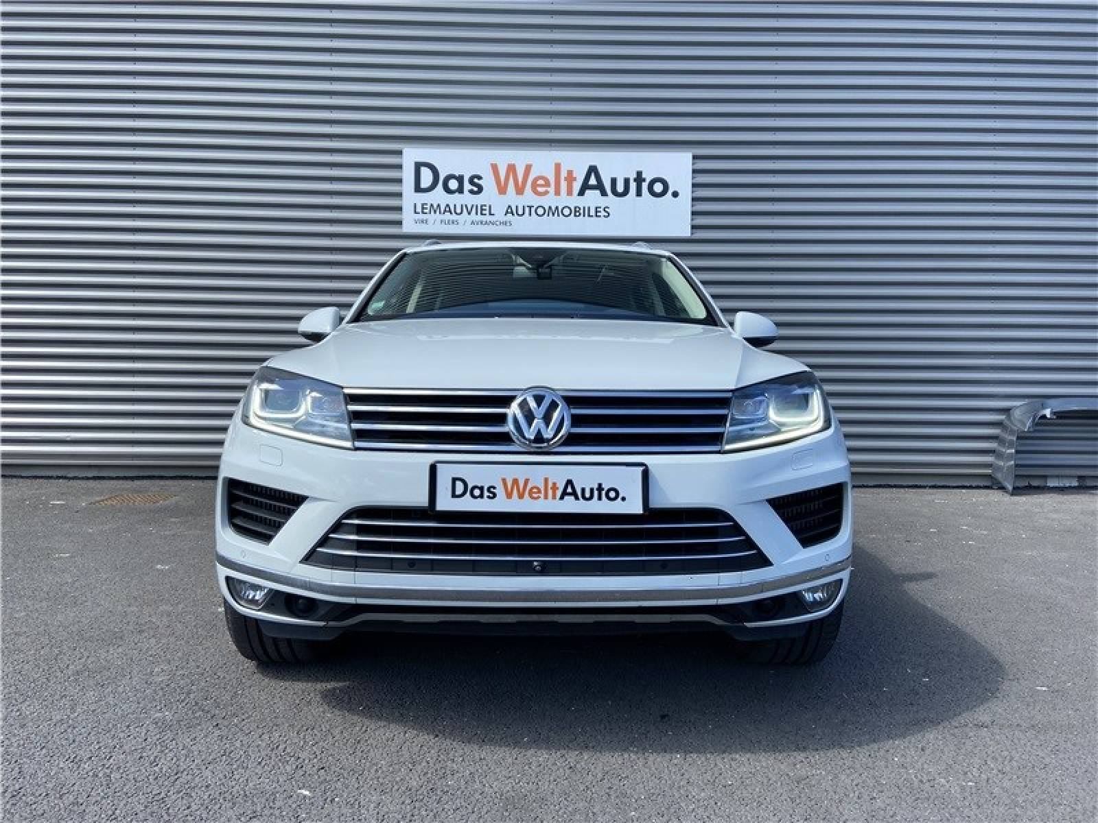 VOLKSWAGEN Touareg 3.0 V6 TDI 262 4Motion BlueMotion Technology - véhicule d'occasion - LEMAUVIEL AUTOMOBILES - Présentation site web V2 - Lemauviel Automobiles - VIRE - 14500 - VIRE - 2