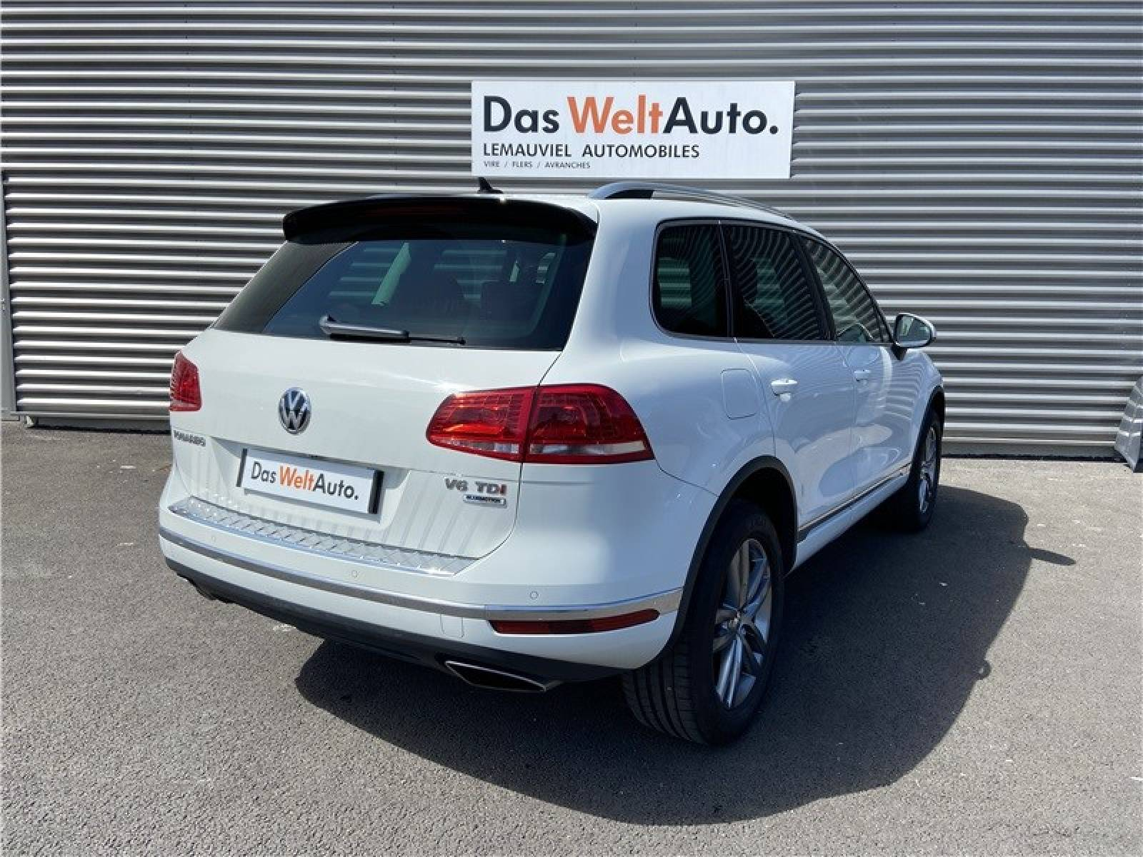 VOLKSWAGEN Touareg 3.0 V6 TDI 262 4Motion BlueMotion Technology - véhicule d'occasion - LEMAUVIEL AUTOMOBILES - Présentation site web V2 - Lemauviel Automobiles - VIRE - 14500 - VIRE - 4